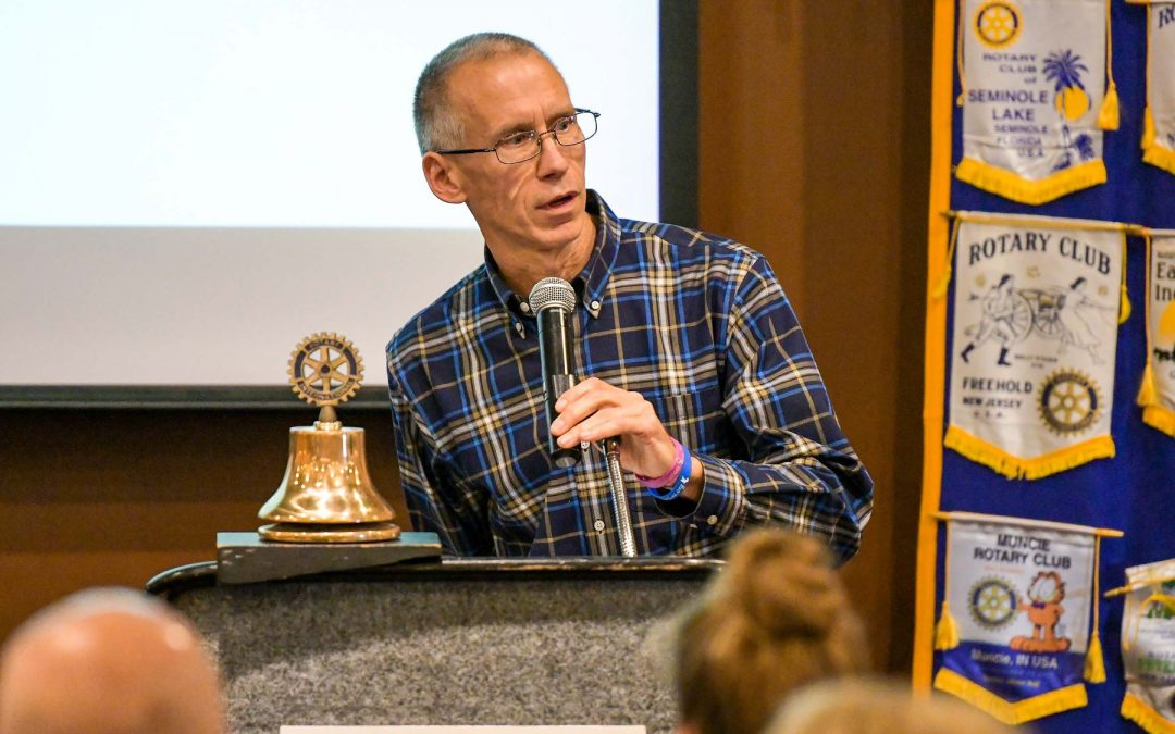 Ron Plush Speaks at NE Rotary Club in Cincinnati